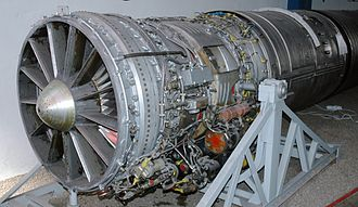 Lyulka AL-7 - Lyulka AL-7F turbojet engine at the Polish Aviation Museum