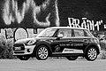 Münster, Hafen, BMW Mini -- 2019 -- 7365 (bw).jpg