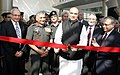 M.M. Pallam Raju inaugurating the exhibition during the Defcom India-2011, in New Delhi. The Chief of Army Staff, Gen. V.K. Singh and the Signal Officer in Chief and Senior Colonel Commandant, Corps of Signals.jpg
