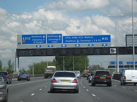 M25 motorway - Wikiwand
