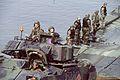 M2 Bradley debarks a pontoon bridge.jpg