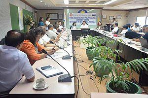Metropolitan Manila Development Authority - A meeting of the Metro Manila Council in June 2016.