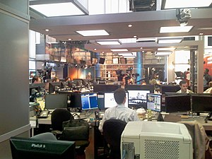 MSNBC NYC HQ Studio