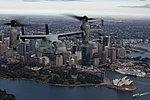 MV-22B Osprey flies over Sydney Harbour 3.jpg