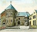 Maastricht, OLV-kerk, oostzijde (Ph v Gulpen, 1840).jpg