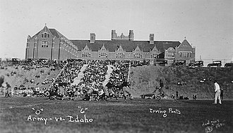 Idaho Vandals - MacLean Field in 1921; it was the home of Vandals' football from 1914 through 1936; Baseball continued here through 1966