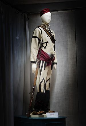 Komitadji - Dress of Macedonian komitadji (Museum Bitola)