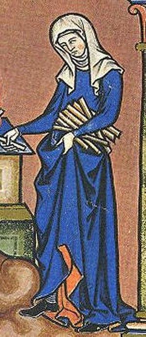 Hazelelponi - Image: Maciejowski Bible Woman