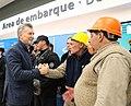 Macri recorre obras de ampliación del Aeropuerto de Mar del Plata 01.jpg
