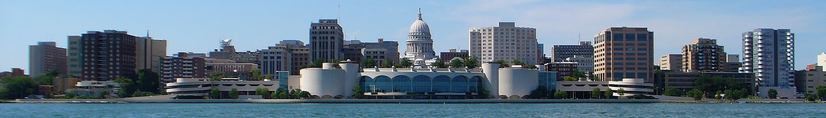 Panorama du centre de Madison.