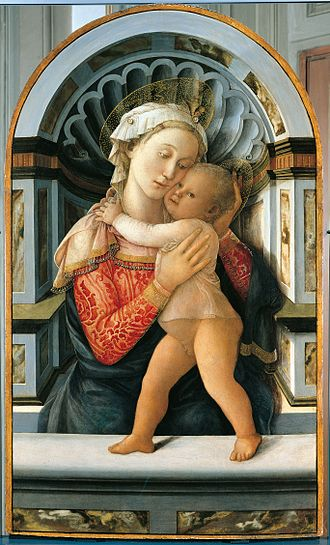 Madonna (art) - Madonna and Child by Filippo Lippi (15th century)
