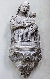 Madonna dell'Orto (Venice) - Nave right side - Madonna col Bambino by Antonio Rizzo.jpg