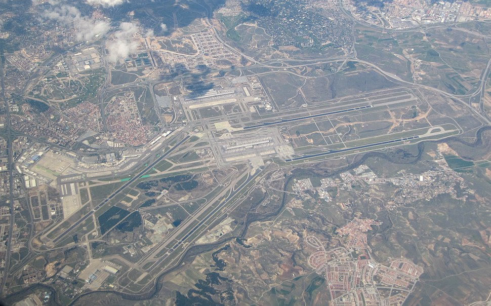 Madrid-Barajas - Aerial photograph