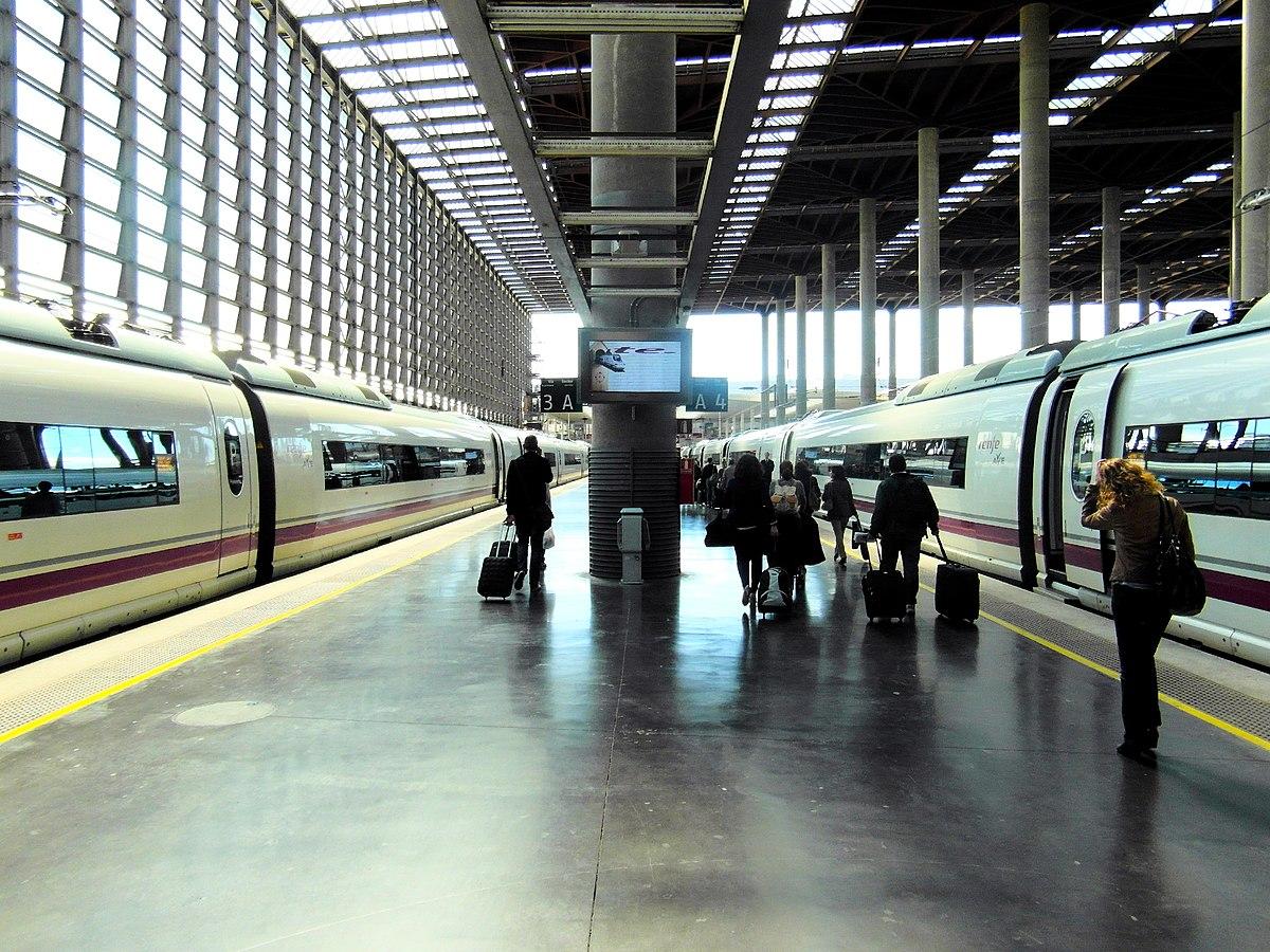 Estaci N De Madrid Puerta De Atocha Wikipedia A