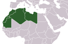 Arab world wikipedia the maghreb western arab world sciox Image collections