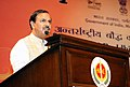Mahesh Sharma addressing at the inauguration of the 5th International Buddhist Conclave-2016, organised in association with the State Governments of Uttar Pradesh and Bihar, in New Delhi.jpg