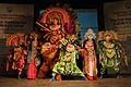 Mahisasuramardini - Chhau Dance - Royal Chhau Academy - Science City - Kolkata 2014-02-13 9131.JPG