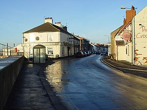 Paull - Main Street, Paull village (2007)