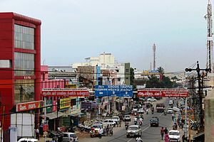 State Highway 15 (Tamil Nadu) - Image: Main road gobi