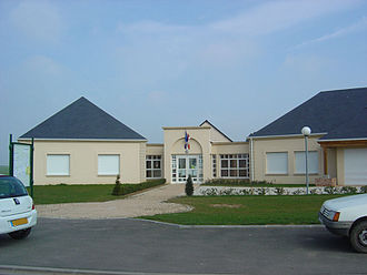 Angerville-la-Campagne - Town hall