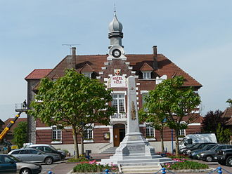 Marcoing - Image: Mairie de marcoing