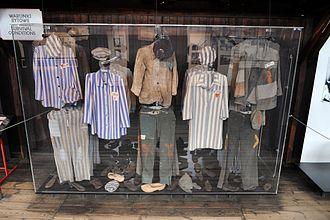 Majdanek State Museum - One of the exhibits at the Majdanek Museum