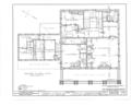 Major General Solomon Cowles House, Main Street, Farmington, Hartford County, CT HABS CONN,2-FARM,6- (sheet 3 of 11).png