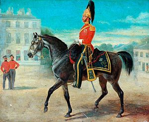 7th Dragoon Guards - Major Gore, the 7th Dragoon Guards, c. 1850