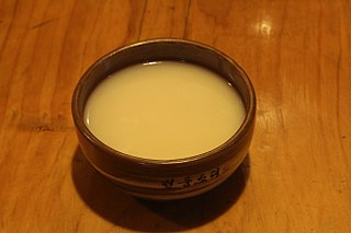 Makgeolli Korean raw rice wine