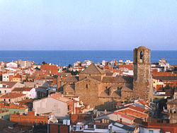 Skyline of Malgrat de Mar