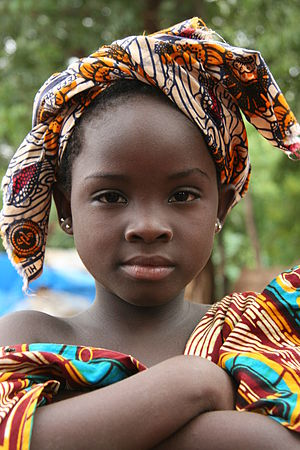 Bozo girl in Bamako, Mali, West Africa, aug 2007