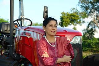 Mallika Srinivasan Indian businesswoman