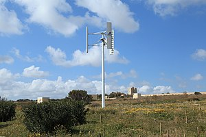 Energy in Malta - Wind turbine in Malta