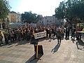 Manifestació per la llibertat dels presos polítics a Riudoms 22-2-2020 03.jpg