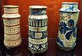Manises, albarelli con lustro metallico, 1400-1450 ca. 01.JPG