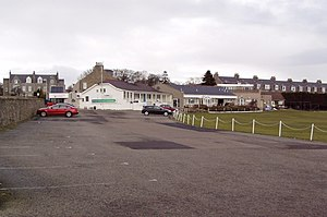 Mannofield Park - Image: Mannofield Cricket Pavilion geograph.org.uk 1739184