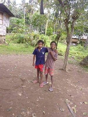 Lumad - Manobo children