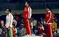 Mansour Barzegar, Jiichiro Date, Stanley Dziedzic 1976.jpg