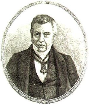 Manuel de la Peña y Peña - Portrait of Manuel de la Peña y Peña
