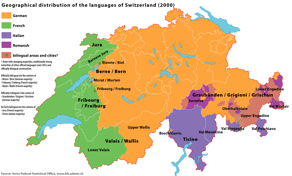 Germanspeaking Switzerland Wikipedia - Map 9f germany