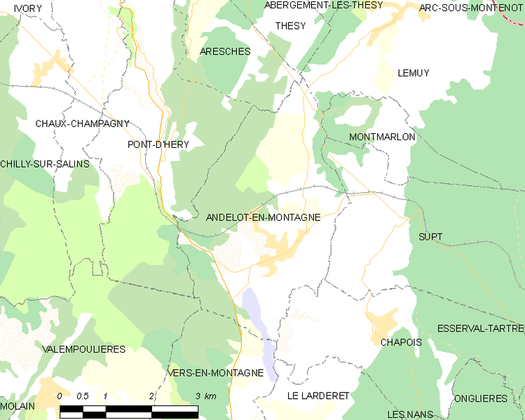 tóng-àn:Map commune FR insee code 39009.png