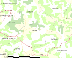 Map commune FR insee code 40027.png