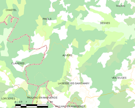Map commune FR insee code 43015.png