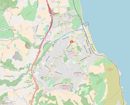 Map of Bray Map of Bray.png