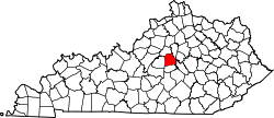 Map of Kentucky highlighting Mercer County.svg