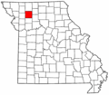 Map of Missouri highlighting Daviess County.png