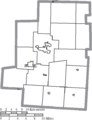 Map of Morrow County Ohio Highlighting Galion City.png