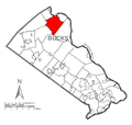 Map of Nockamixon Township, Bucks County, Pennsylvania Highlighted.png