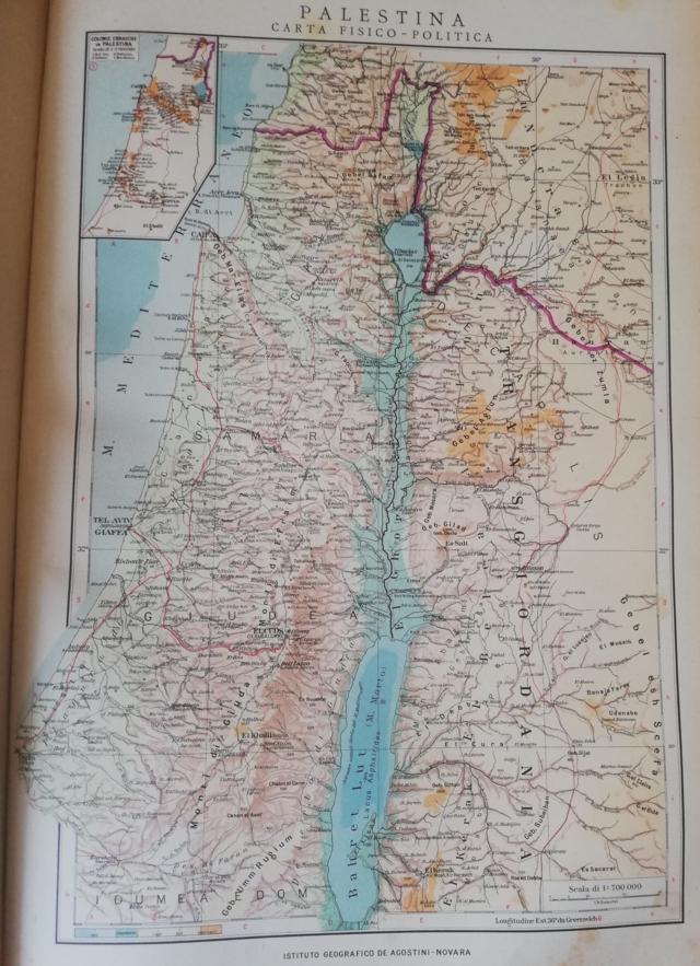 Cartina Muta Della Palestina.Palestina Wikiwand