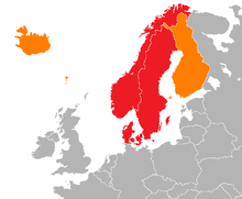 Scandinavia Wikipedia - Map of scandinavia